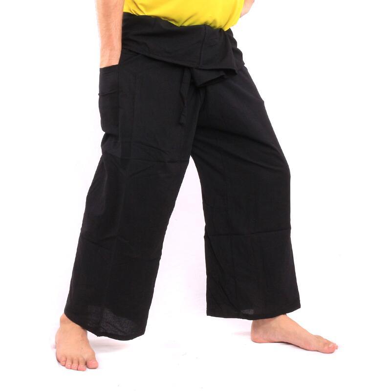Thai Fisherman Pants Black