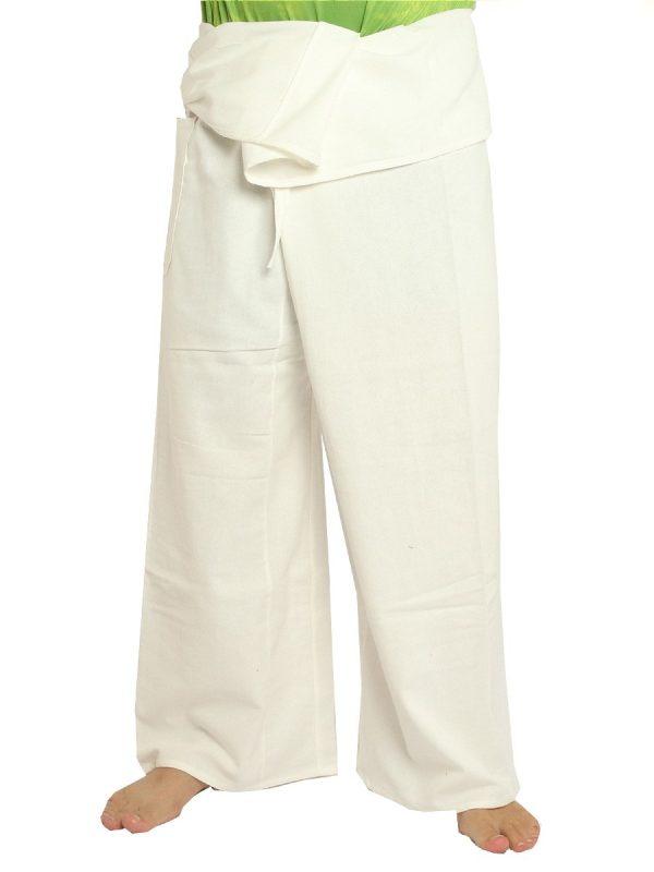 Men's Thai Fisherman Hill Tribe Pants Cotton Extra Long