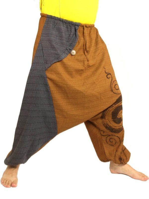 Boho Baggy Thai Harem Pants