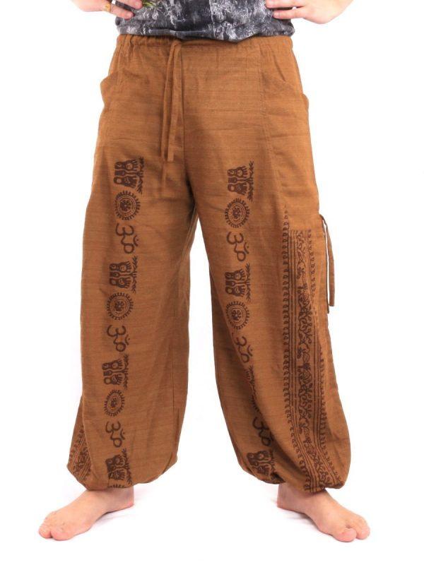 Buddha Meditation Pants – Buddhist Symbols