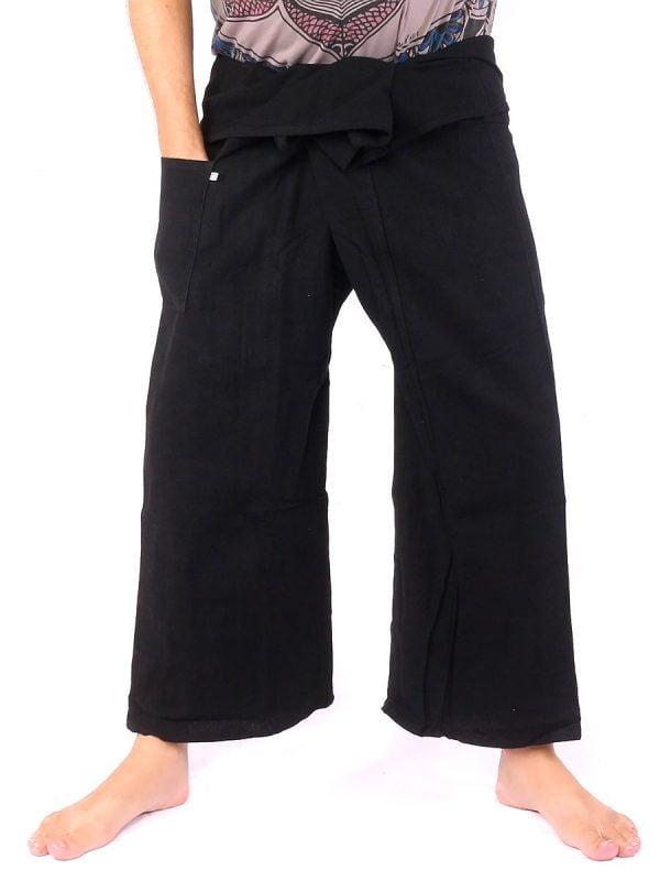 Authentic Thai Fisherman Pants extrac thick Cotton Size M-L